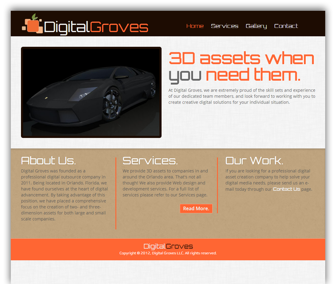 Digital Groves Site Example